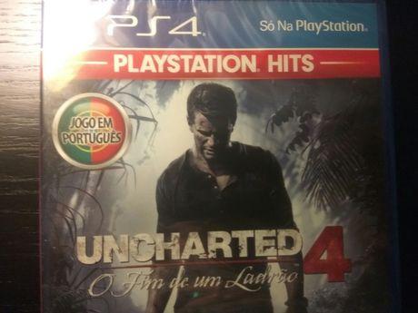 Jogo PS4 - UNCHARTED 4 - O Fim de um Ladrão