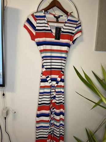 Sukienka w paski New Look długa rozmiar S 36 nowa z metką
