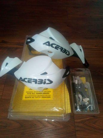 Handbary Acerbis Rally II z zestawem montażowym