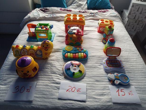 Zabawki markowe - dla małego dziecka - różne