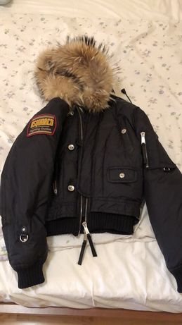 Зимняя куртка пуховик парка Dsquared