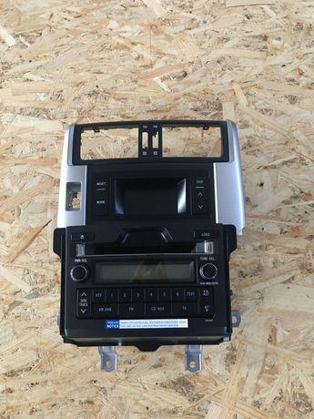Штатная магнитола Land Cruiser Prado 150 2013