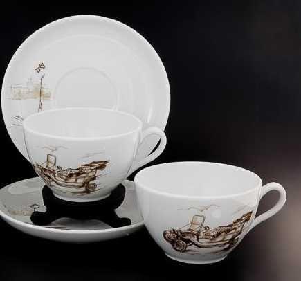 Vista Alegre - Almoçadeiras + Chávenas Chá