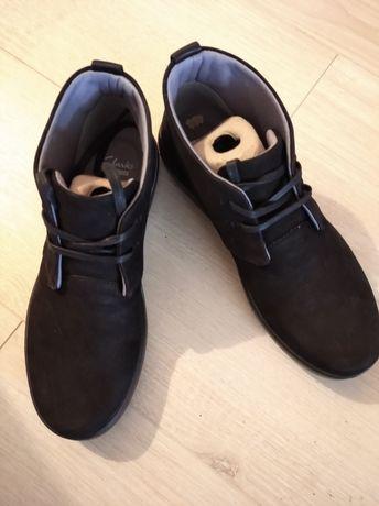 Buty przejściowe Clarks czarne rozm.39,5