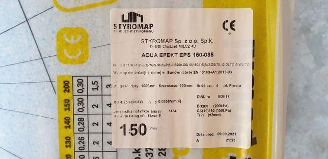 Styropian EPS 150 AQUA EFEKT 15 cm