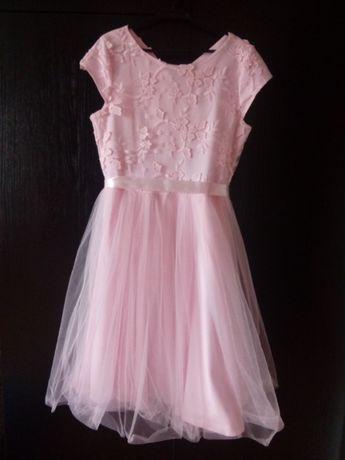 Piekna sukienka tiul nowa rozm 152 cm
