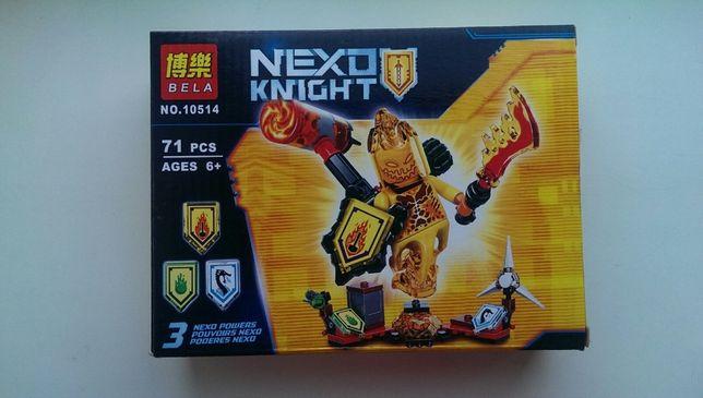 Конструктор аналог Lego Нексо Найтс 10514 Абсолютная сила Флама