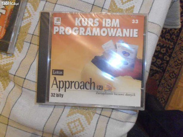 Kurs IBM programowanie Wndows 98 na CD Lotus Approach (2)