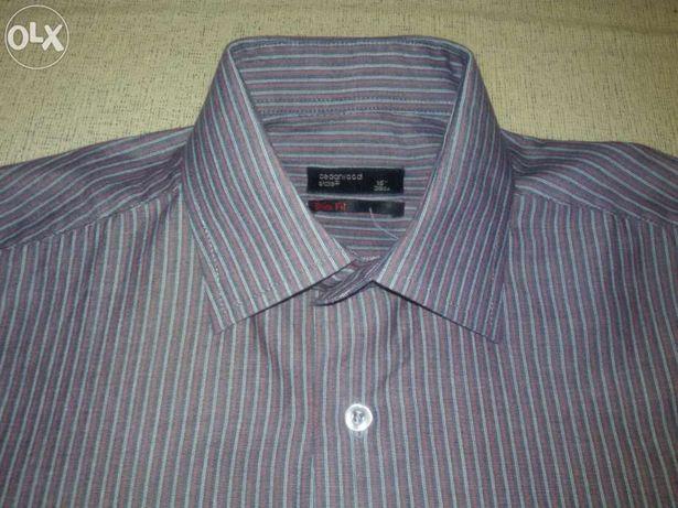 Стильная брендовая мужская рубашка Cedarwood, S, Slim Fit 15р