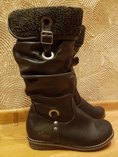 KOZAKI buty zimowe damski dziewczęce rozmiar 38