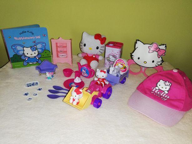 Hello Kitty Kostiumowy bal, Lego, Czapka, Okulary, Zastawa i meble . .