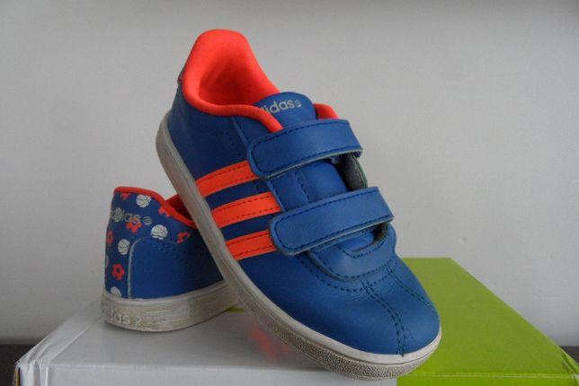 Adidasy chłopięce, buty chłopięce Adidas Neo Label roz. 27, dł. 17,5cm