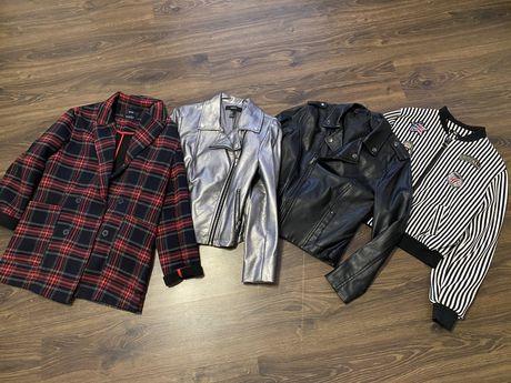 Куртка кожанка косуха бомбер рубашка 42 с s