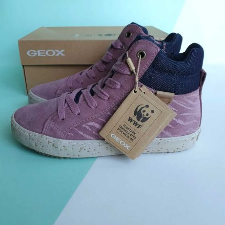 Демисезонные ботинки geox kalispera 30 размер, 19.1 см.