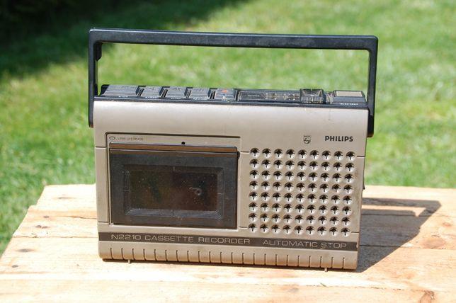 Stary magnetofon philips N 2210