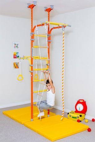 Drabinka gimnastyczna dla dwójki dzieci