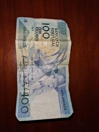 Nota de 100 escudos de 1988