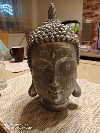 Głowa Buddy dekoracja