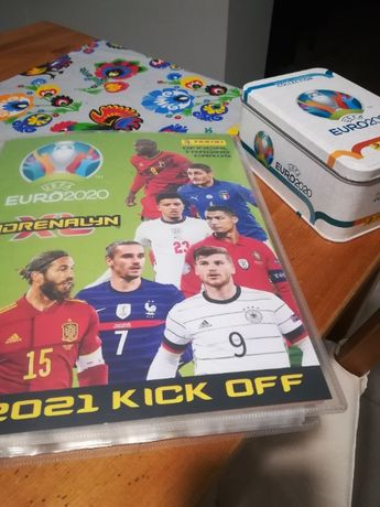 Karty Panini UEFA Euro 2020, 2021 Kick Off XL Adrenalyn