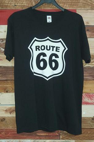 Route 66 / Dakar / Harley Davidson - T-shirt - Nova