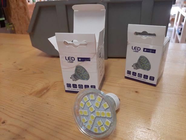 Lâmpadas GU10 LED 3,5W - NOVAS
