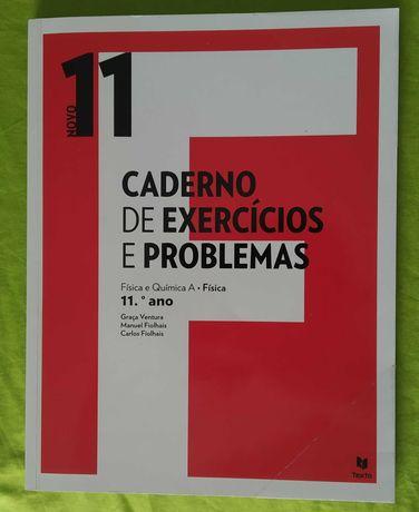 Cadernos de atividades de Física e Química 11 ano Novos