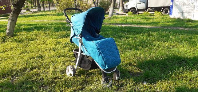 Детская коляска 4baby Rapid. ВИДЕО И ФОТО. Прогулочная, всесезонная.