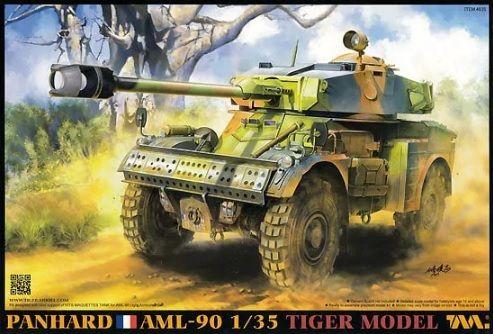 * TIGER MODEL - 1:35 * Panhard AML-90