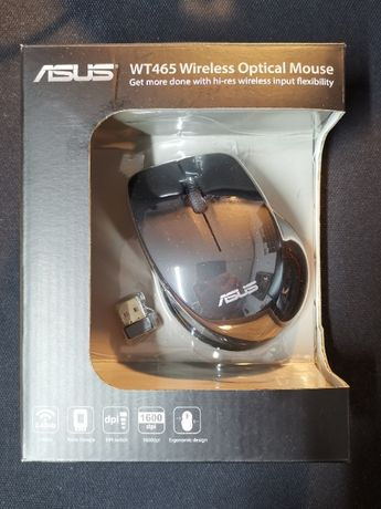 Mysz Asus WT465 nano USB, 1600 DPI, 2.4 GHz
