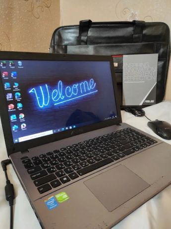 Ноутбук ASUS R510CC-XX874H Полностью рабочий ПК. Готов к проверкам !