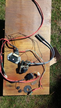 Электронное зажигание ява 12 В полный комплект с ФУОЗ