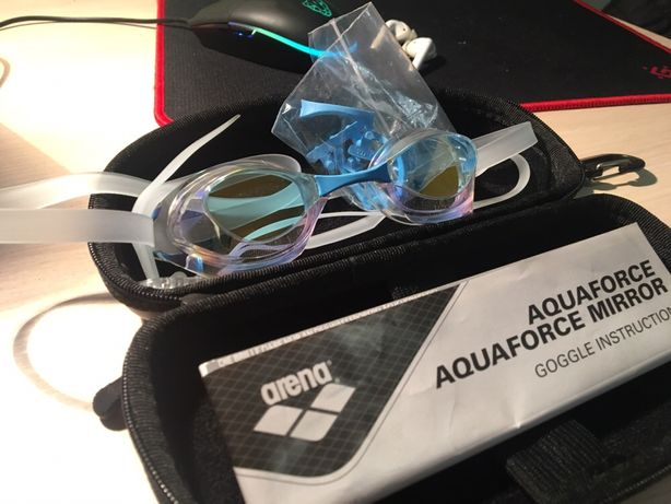 Очки для плавания, arena aquaforce mirror