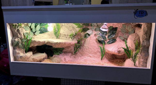 Terrarium NOWE dla agamy gekona gekon lamparci węża żółwia pytona