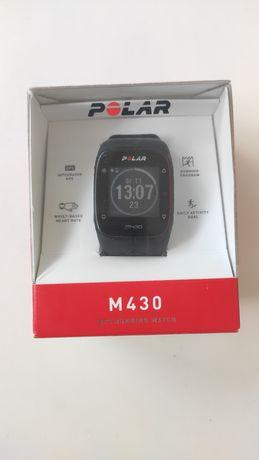 Zegarek Polar M430 czarny, komplet, stan bdb, + nowa bateria gratis