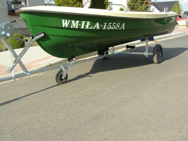 Wózek przyczepka do łódki