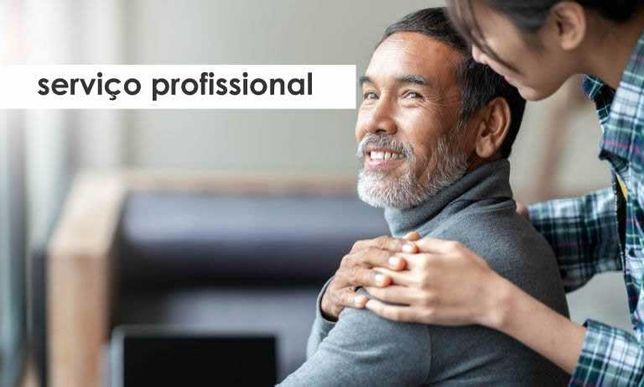 Serviço profissional cuidador e acompanhante de idosos