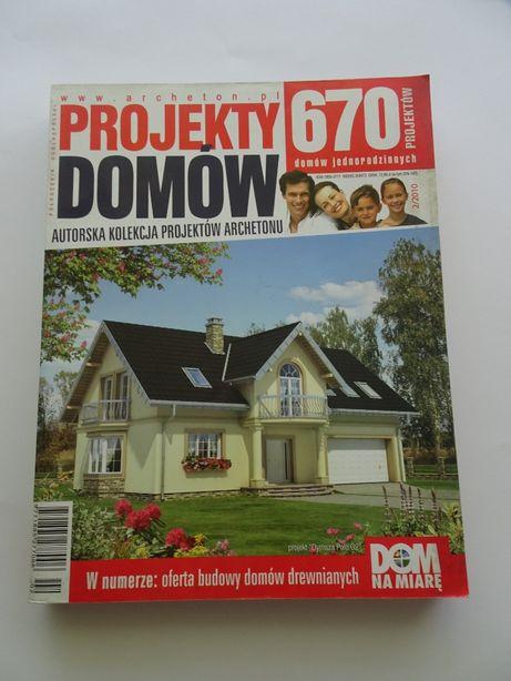 Katalog z projektami domów .