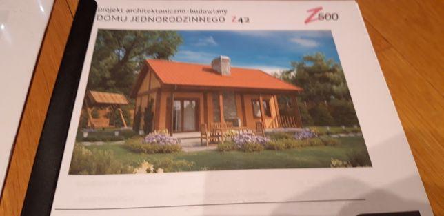 Projekt domu jednorodzinnego z42