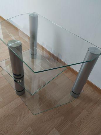 Stolik kawowy ława salon szklany nowoczesny design
