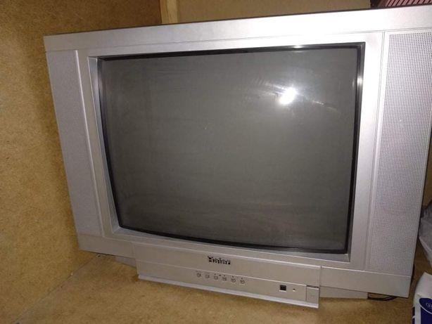 Телевизор Haier в рабочем состоянии
