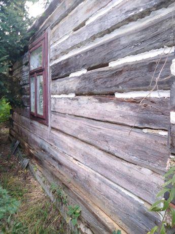 Oddam za darmo dom drewniany częściowo rozebrany
