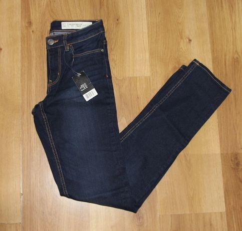 spodnie jeansy 36 s lee kors levis niebieskie 34 xs rurki