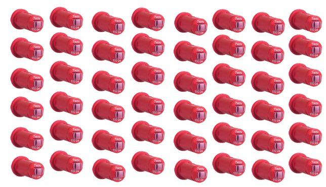 Komplet dysz na belką 24m do opryskiwacza 48 sztuk Albuz AVI TWIN 04