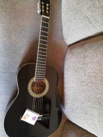Guitarra Clássica Preta