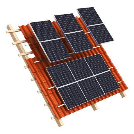 Moduł panele Fotowoltaiczny 30 szt. Longi Solar 360W srebrna rama