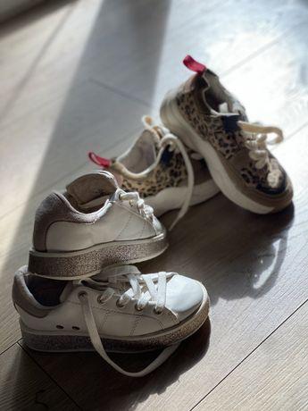 Dwie pary trampki buty sportowe Zara 28