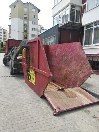 Вивіз сміття Львів Оренда контейнера під будівельне сміття Львів