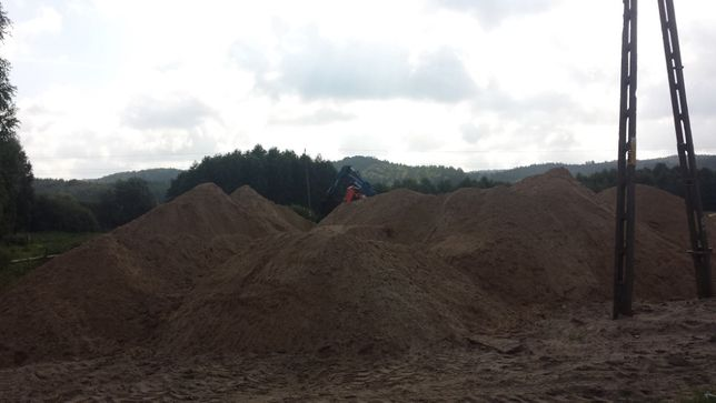 zwir piasek ziemia ogrodowa tanio lebork transport