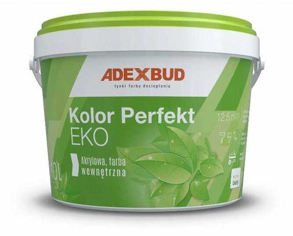 Inwestycyjna biała farba akrylowa 10L ADEXBUD