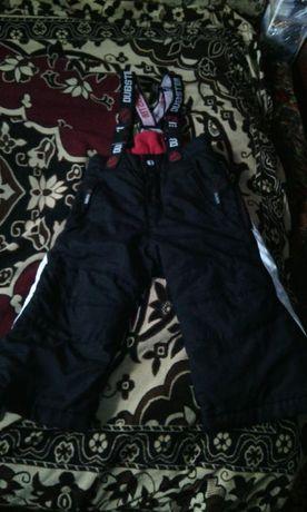 Продам фирменный деми/еврозима полукомбез/штаны H&M